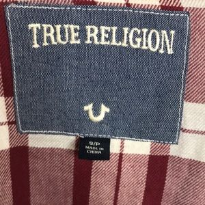 True Religion Tops - True Religion Plaid Flannel